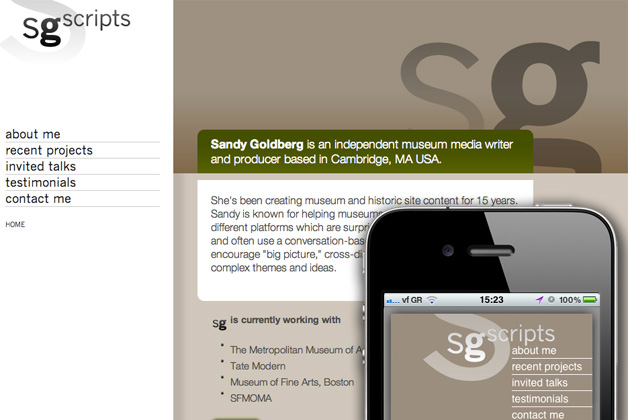 sgscripts homepage